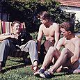 020  Mine fætre Henrik, Niels og Holger