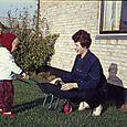 160  Niels med sin mor