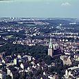 183  Taget fra Ulm Domkirkes højeste spir, 172 m højt