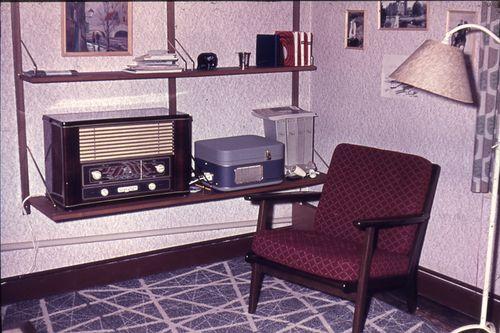 029  Min LL Capella og Philips Major på værelset i Brogade