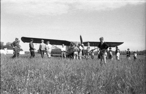 284  En sportsflyver landede på Køllergårds mark