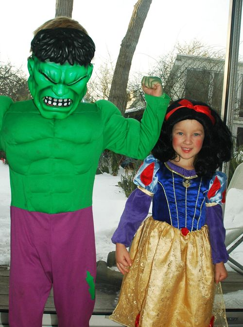Hulk & Snehvide