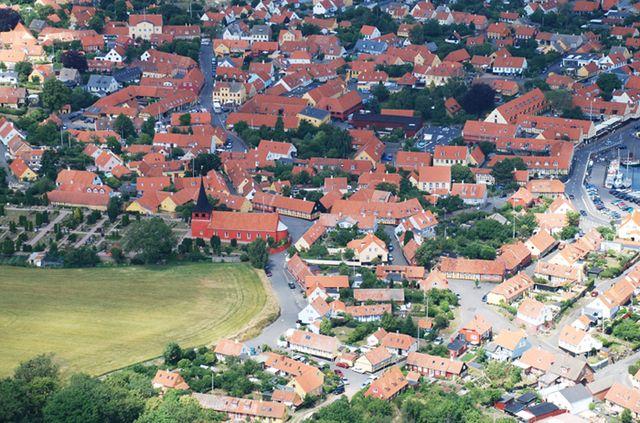 Luftfoto Svaneke 2040