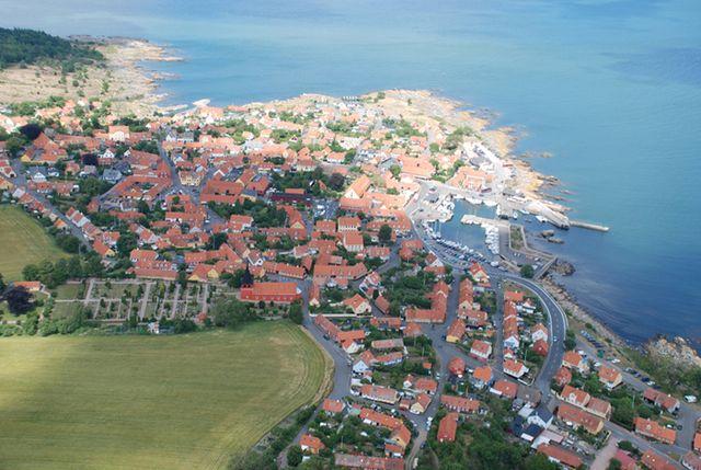 Luftfoto Svaneke 2055